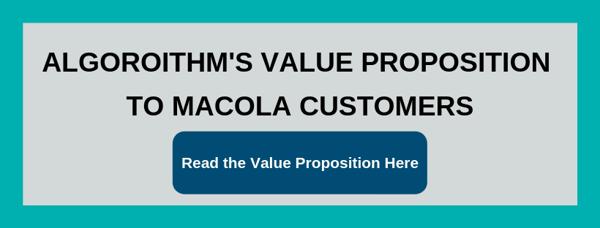 Algorithm Value Proposition