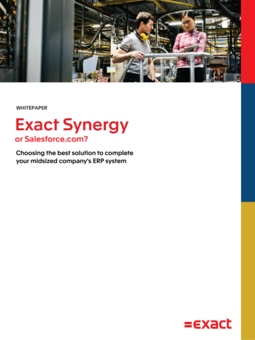 How to Choose between Exact Synergy or Salesforce.com