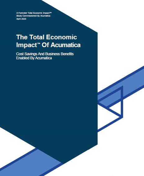 The Total Economic Impact of Acumatica