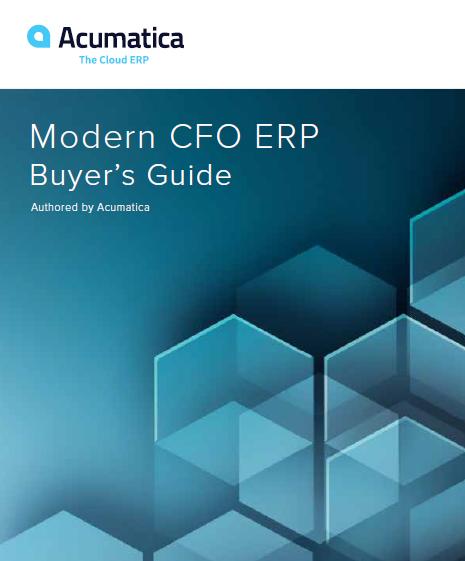 Modern CFO ERP Buyer's Guide