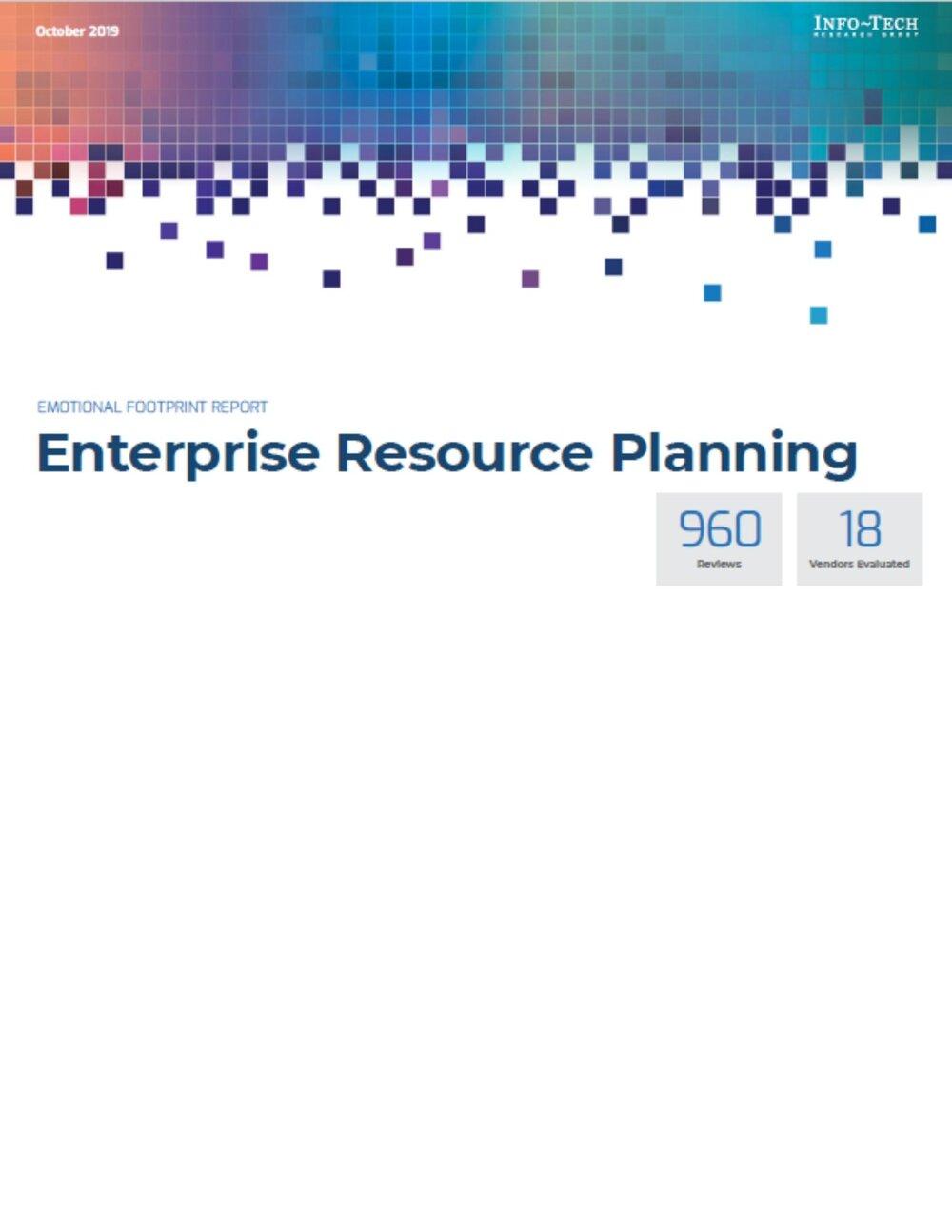 Emotional Footprint Report: Enterprise Resource Planning