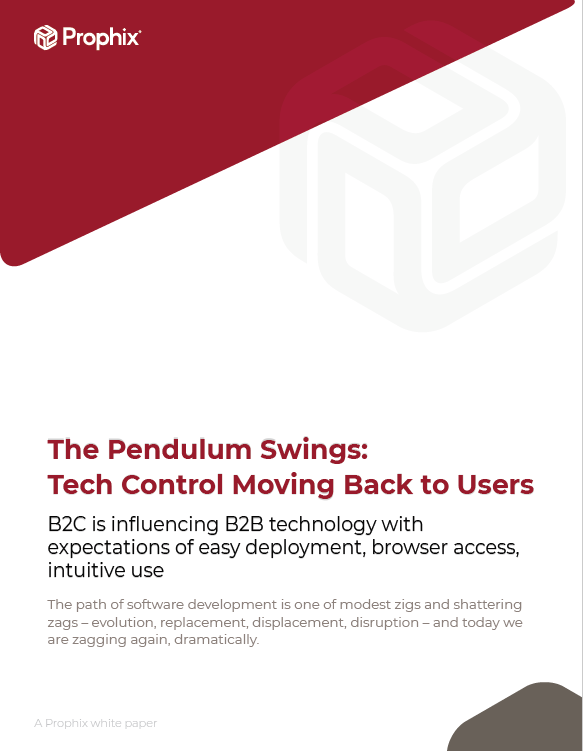 The Pendulum Swings: Tech Control Moving Back To Users