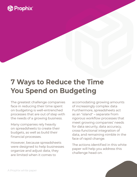 7 Ways to Reduce the Time You Spend on Budgeting