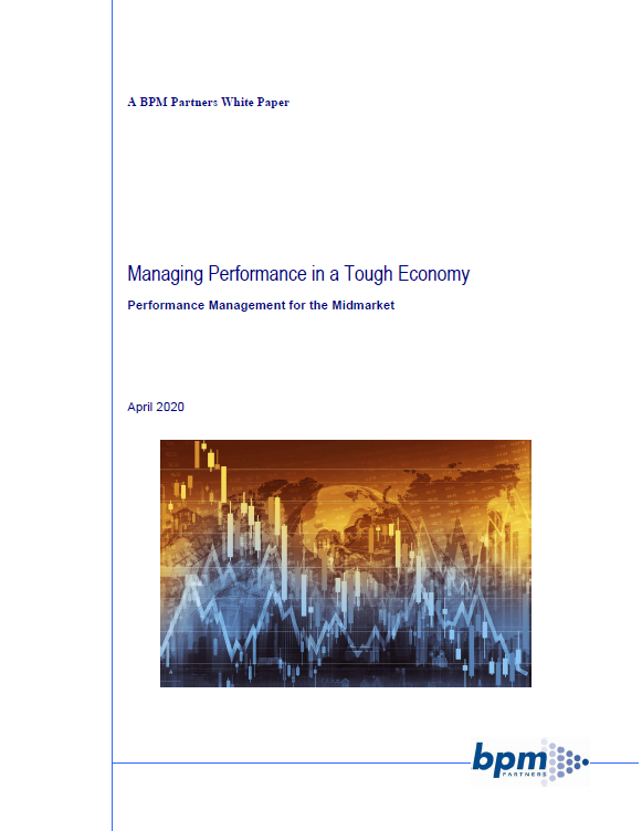 Managing Performance in a Tough Economy