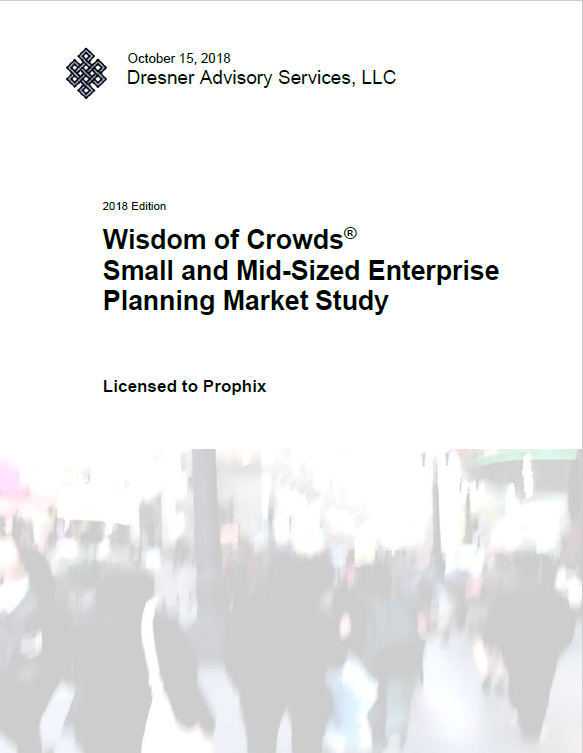 Wisdom of Crowds: Small and Mid-Sized Enterprise Planning Market Study