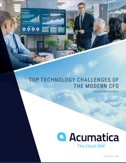Top Technology Challenges of the Modern CFO